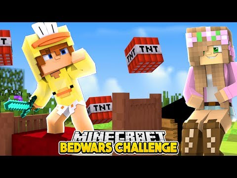 Minecraft Wedding Bedwars - THE LITTLE CLUB GO TO WAR WITH EACH OTHER