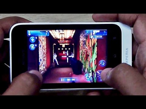Sony Xperia TIPO GAMING REVIEW HD by Gadgets Portal