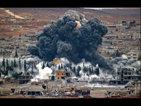 Бомбардировка Сирии.Война в прямом эфире