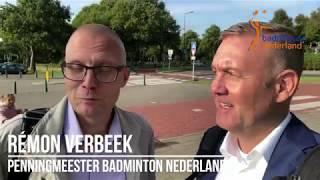 Remon Verbeek, bestuurslid bij Badminton Nederland, heeft tips voor verenigingsbestuurders