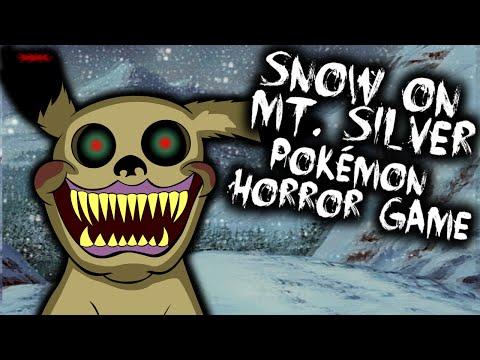 HAUNTED POKÉMON CREEPYPASTA GAME - EASTER EGG - SNOW ON MT. SILVER