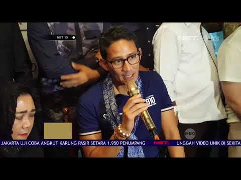 Sandiaga Uno Hadiri Deklarasi Komunitas Partai Emak Emak- NET 10 Mp3