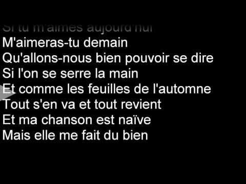 SHY'M - Et si... (Paroles/Karaoké/Lyrics)