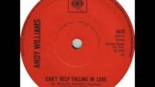 Andy Williams - Can't Help Falling In Love (STEREO SINGLE EDIT)