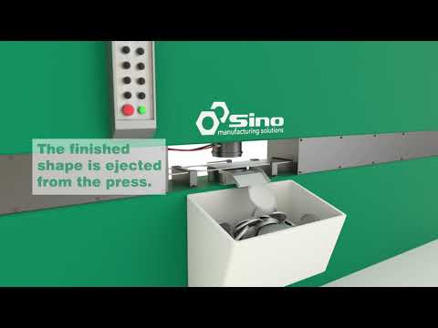 Sino Manufacturing Solutions:  Metal Pressing Process Animation