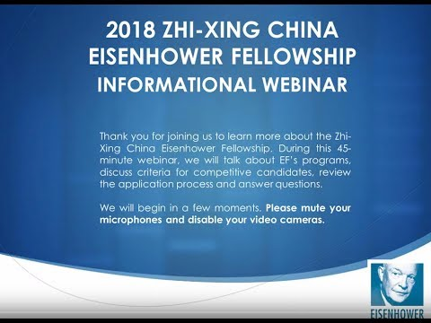 Zhi Xing China Program: Informational Webinar (June 2017)