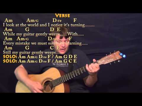 while-my-guitar-gently-weeps-(beatles)-strum-guitar-cover-lesson-with-chords/lyrics
