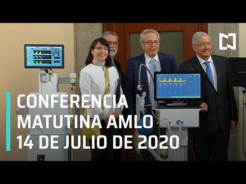 Conferencia matutina AMLO / 14 de julio de 2020