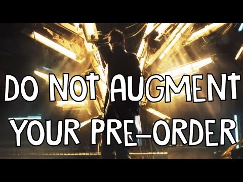 AUGMENT THIS - Deus Ex: Mankind Divided's Pre-order Plans Are Horrible