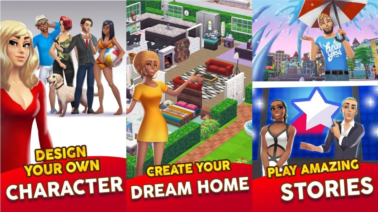 Home Street Design Your Dream Home Android Gameplay Youtube