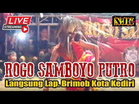 🔴 Live 2 Ganongan & Kucingan ROGO SAMBOYO PUTRO Langsung Lapangan BRIMOB KEDIRI 12 Juli 2019
