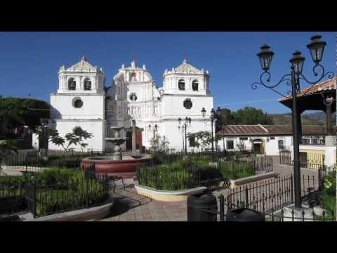 Vista panorámica de Ciudad Vieja, Guatemala