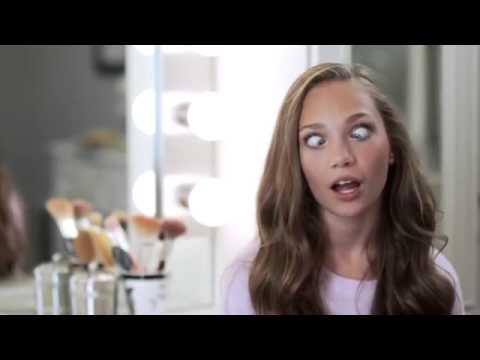 Maddie Ziegler : real bloopers slumber party