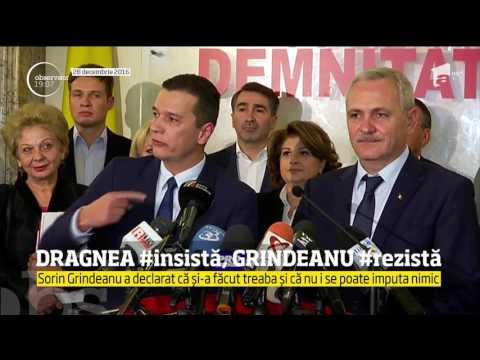 Războiul deschis dintre Liviu Dragnea şi Sorin Grindeanu aruncă România în haos