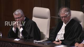 Netherlands  Russia 'twisting the law and distorting the facts'   Ukraine retorts at ICJ