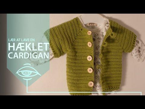 Lær at hækle en cardigan med raglan-ærmer | mønster og tutorial