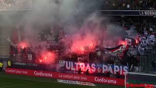 Ambiance Caen -PSG 2017-2018