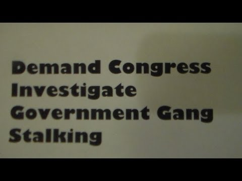 Our Walk Aug. 19 - Demand Congress Investigate Government Gang Stalking