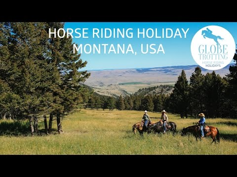 Horse riding holiday in Montana - courtesy of Globetrotting