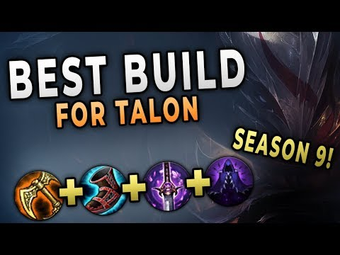 This Talon Build Is The New Best Build For Season 9
