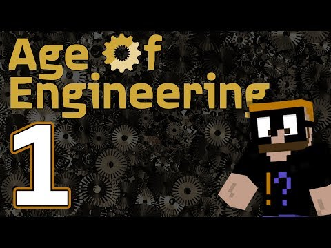 Saph Plays Age of Engineering Minecraft 1.10+ - Ep. 1 - Torture 101