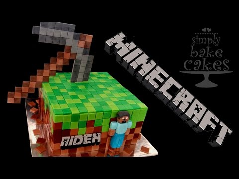 Minecraft Cake Tutorial Youtube