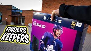Leaving this PS4 at a Hockey Rink