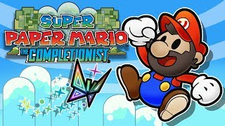 Super Paper Mario - A Flat Game with a Deep Story | The Completionist