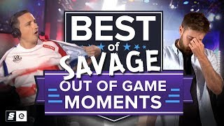 Best of SAVAGE Out of Game Moments (all esports)