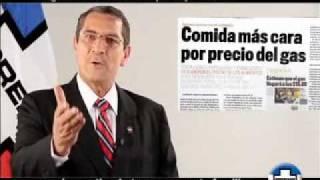 ARENA, JORGE ESCOBAR. Candidato por La Unión. El error del gas.