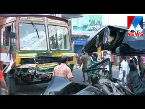 Accident in Aluva; 2 dead | Manorama News