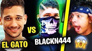 EL GATO VS BLACKN444 !! OS MELHORES DO FREE FIRE! - QUEM GANHA ?
