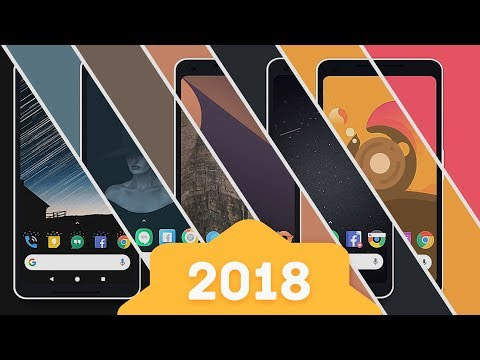 Top 10 New Android Icon Packs 2018
