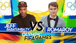 OLYMPIC FIFA GAMES 1/4 | BABATUMBA VS ROMAROY | WAGER MATCH