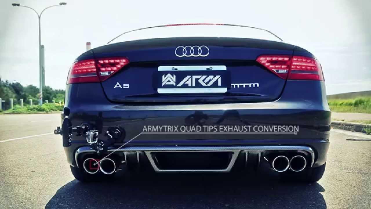 Audi A5 2 0 Tfsi Quatrro Dsg W Armytrix Downpipe Amp Flap