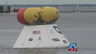 Art Kohn reports on testing space capsule recovery