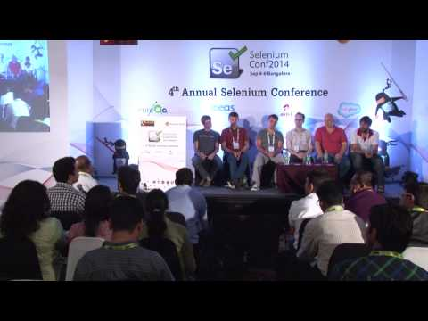 Q & A with the Selenium Committers @ Selenium Conf 2014