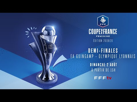 [LIVESTREAM] The semi-final of the French Women's Cup between EA Guingamp and Olympique Lyonnais. It's half-time and the score is 0-0