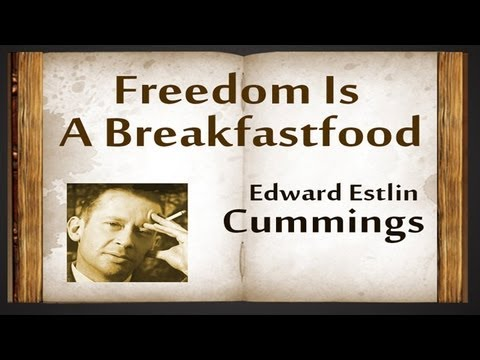 an introduction to the life of edward estlin cummings Edward estlin cummings was born on october 14, 1894, in cambridge, massachusetts his father was a minister and professor, while his mother instilled in the youngster a love of language and play.