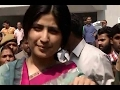 UP Polls: Dimple Yadav casts her vote in Saifai