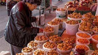 Как дурят на рынке при покупке грибов.