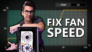 How to Adjust PĊ Fan RPM