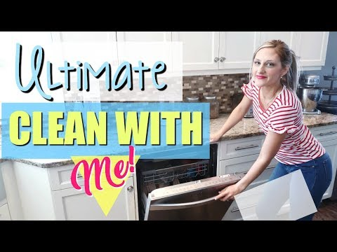 ✨NEW! ULTIMATE CLEAN WITH ME ~ A TON OF CLEANING MOTIVATION 🙌