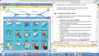 CCNA 1 PT Practice Skills Exam Type C