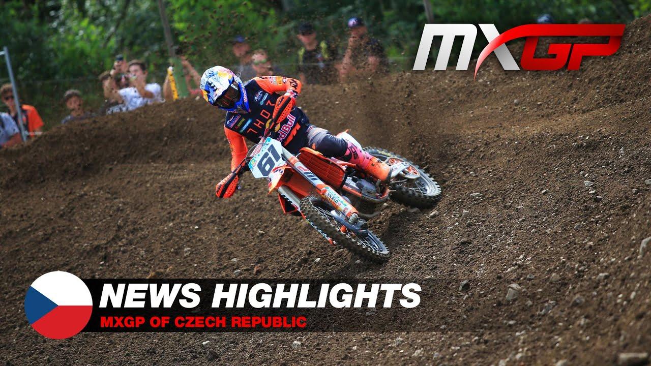 Mundial de  Motocross - GP República Tcheca - VÍDEO