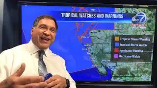 VIDEO: Latest forecast track on Hurricane Michael