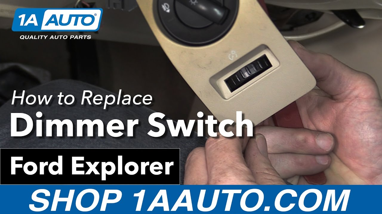 How To Replace Install Dimmer Switch 2006 Ford Explorer Buy Quality Wiring Auto Parts At 1aautocom
