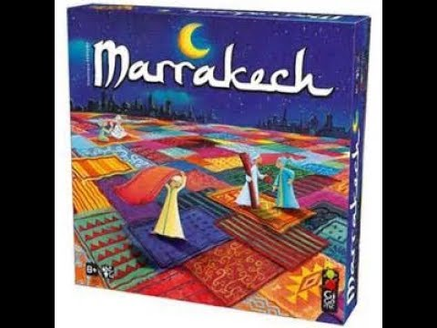 Marrakesh - a quick board game review