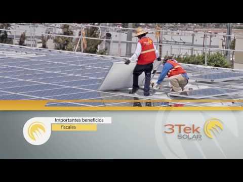 Paneles Solares Tijuana Baja California Plantronics 1MW por 3Tek SOLAR full Español