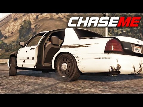 Chase Me in GTA V E24 - Blues Brothers Return In A Crown Vic